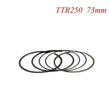 Motorcycle Piston Rings Set For Honda XR250 XR 250 BAJA250 (+50) 0.5mm Oversize Bore Size 73.5mm NEW(China)