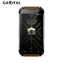 "GEOTEL G1 MT6580A Quad Core 3G SmartPhone 5.0"" HD 2GB+16GB Android 7.0 8MP Power Bank OTG 7500mAh Flashlight Mobile Cell Phone(China)"