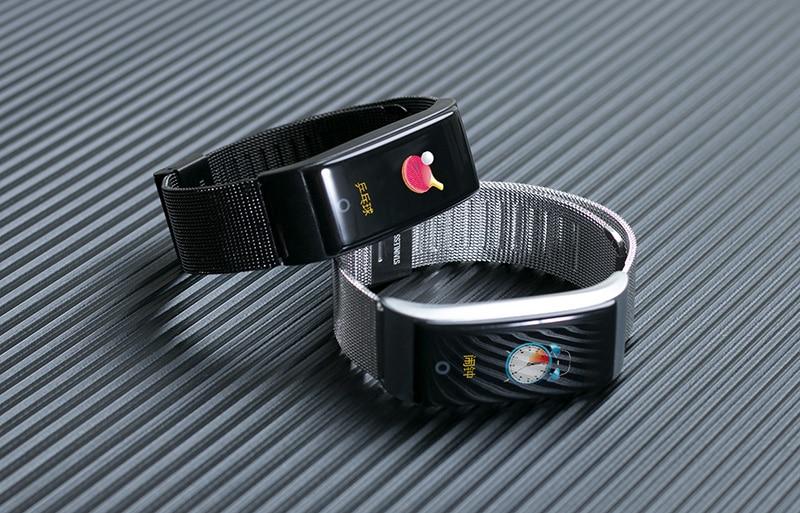 VERYFiTEK F4 Metal Smart Band Wristband Blood Pressure Heart Rate Monitor Men Women Fitness Watch Pedometer Smart Bracelet (30)