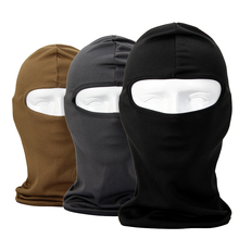 Breathable Tactical Army Protection Balaclava Bicycle Military Airsoft Paintball Helmet Full Face Mask Windproof(China)
