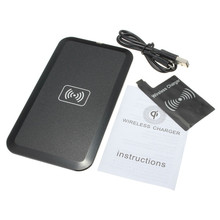 Fast Charging Qi Wireless Charger Pad Mat With Micro USB Cable + Receiver Kit For Samsung For Galaxy S3 i9300 Smartphone