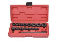 Wholesale professional 17pcs Auto clutch hole corrector Clutch Aligning tool set  universal clutch pressure repair tool DHL Free