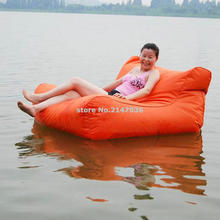 SOLID DURABLE EXCITING floating bean bag chair outdoor floating bean bag, pool beanbag, land relaxing chair