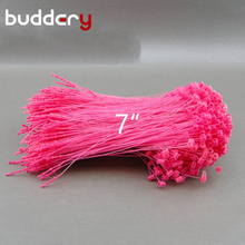 1000pcs Plastic Loop Pin Pink Security Loop Pin For Garment Tags