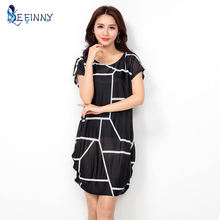 Buy Women Summer Casual Vintage Loose Dress Summer Party Mini Dresses vestido de festa beach dress Autumn Womens clothing 10 style for $4.55 in AliExpress store