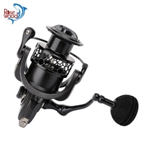 RoseWood 4000/5000 Spinning Reel Ultra Smooth 9BB 5.2:1 CNC Machined Aluminum Spool Powerful Reel For Sea/Saltwarer/Boat Fishing