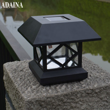ADAINA LED Solar Power Wall Lights for Umbrella Tree Fence Street Lighting Post Lamp Garden Patio Yard Decoration White Emitting