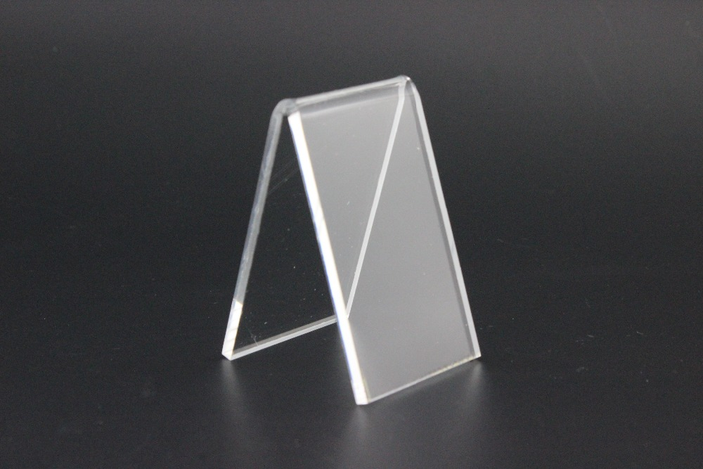 High quality Clear A shape Acrylic Shoe Support Stand shoes Bracket Holder display Rack shoes holder rack(China (Mainland))