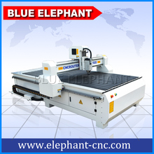 Top quality cnc wood door design machine with air cooling spindle