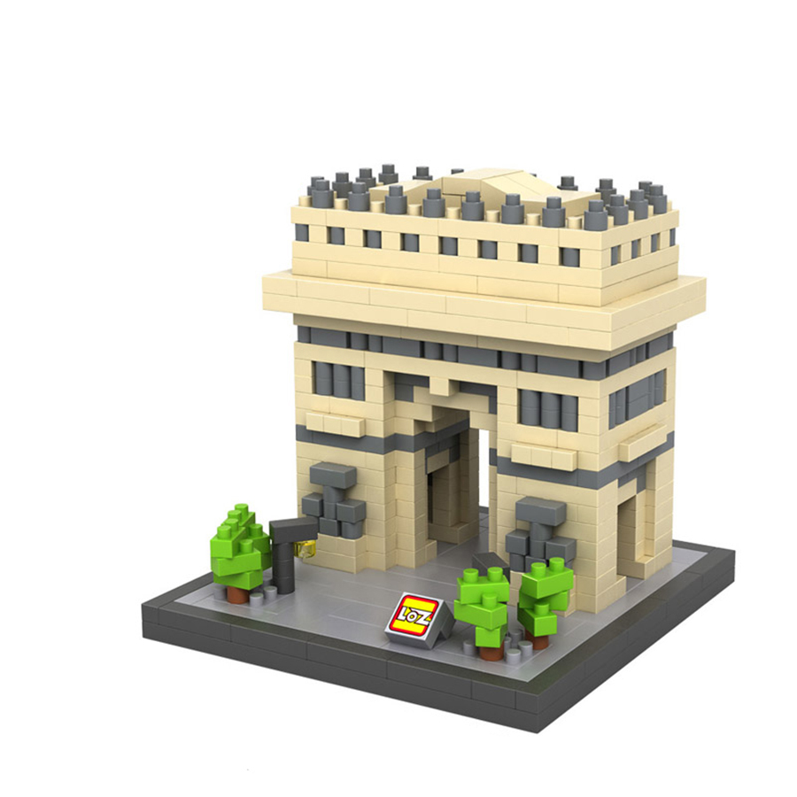 Loz Models Building Small Grain Diamond Toys Blocks Childs Favorite Toy Gift Sphinx Triumphal Arch Greek Temple Sagrade Familia<br><br>Aliexpress