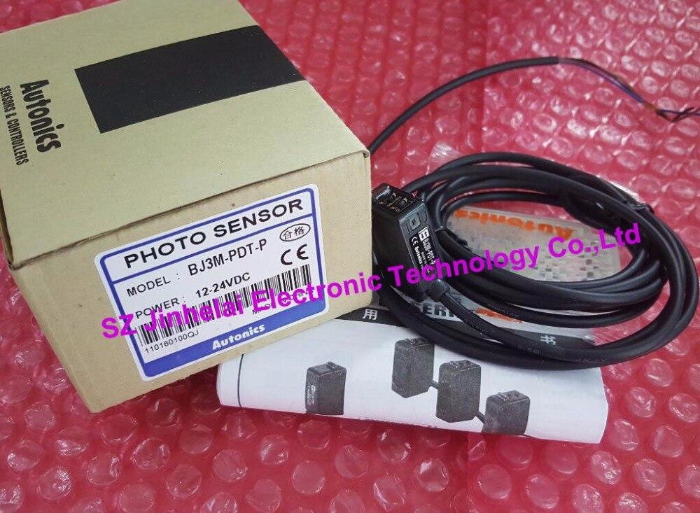 100% New and original  BJ3M-PDT-P   AUTONICS  PHOTOELECTRIC SWITCH   12-24VDC<br>