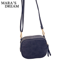 Mara's Dream Daily Mini Leather Flap Women Messenger Bag Small Shoulder Bag Lady Handbag purse Crossbody Bag For Travel 2017 New