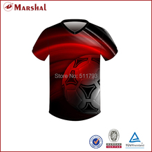 Free Shipping New Design Dye Sublimation Soccer Shirt
