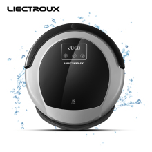 LIECTROUX Robot Vacuum Cleaner B6009,2D Map & Gyroscope Navigation,with Memory,Low Repetition,Virtual Blocker,UV Lamp,Water Tank(China)