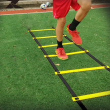 Sport Equipment Accessories New 8-rung Agility Ladder for Soccer Football Speed Fitness Feet Training Bag