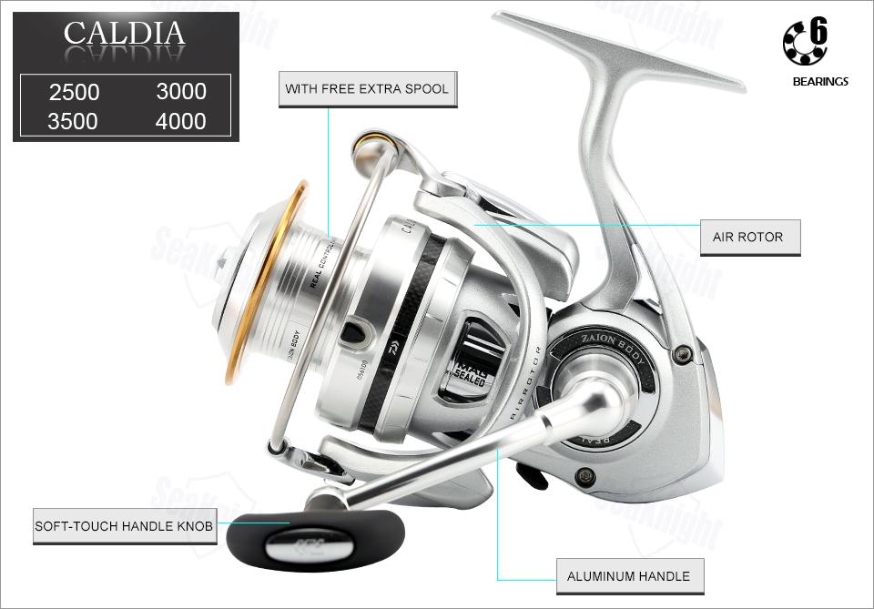 DAIWA CALDIA Spinning Fishing Reel