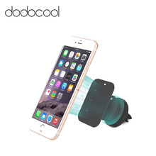 dodocool Universal Magnetic Vehicle Car Mount Air Vent Phone Bracket Stand Holder for iPhone Samsung Smartphone GPS Portable(China)
