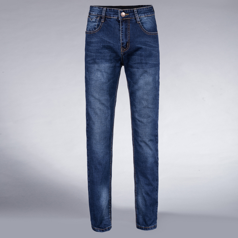 New Men's Trendy Stretch Denim Jeans Slim Fit Pants Trousers Black Blue Size 28 30 32 33 34 35 36 38 40 42