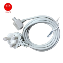 "UK Plug Cable AC Power Adapter Extension Cord for Macbook Pro MagSafe 13"" 15"" 17"" Charger Adapter(China)"