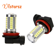1x Car led P21W 1156 1157 H4 H7 H8 H11 9006 T20 led BA15S 33SMD 5730 Brake Parking Reverse Lights Fog Lamps Headlight Bulb DRL