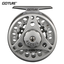 Goture ALC 5/6,7/8,9/11 Fly Fishing Reels Aluminum Frame Spool Left Right Hand Die Casting Fly Reel Coil Pesca 2+1BB