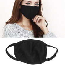 Outdoor Anti-Dust Cotton Mouth Face Mask Black Warm Fashion Cycling Wearing mask durable mouth cover mask Health Care