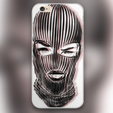 Badwood Ski Mask Cover case for iphone 4 4s 5 5s 5c 6 6s plus samsung galaxy S3 S4 mini S5 S6 Note 2 3 4