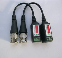 Video Balun Twisted Video Balun passive Transceivers  CCTV UTP Video Balun up to 3000ft Range CCTV DVR camera BNC Cat5