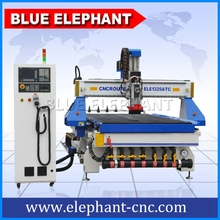 1325 CNC Carving Machine Water Jet Cutting Machine/Wood CNC Router 9KW Italy HSD Air Cooling Spindle Vacuum T-slot Working Table