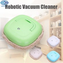 1Pcs Strong Cleaning Intelligent Avoidance Automatic Rechargeable Robotic  Robot Mopping Machine Microfiber