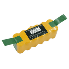 Ni-MH 14.4V 3500mAh Rechargeable Vacuum Cleaner Battery for IRobot Roomba Batmax 550 600 780 790 880 900 80501 80601(China)