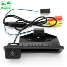 GreenYi Car Trunk Handle CCD HD Reverse Rearview Camera for BMW E60 E61 E70 E71 E72 E82 E88 E84 E90 E91 E92 E93 X5 X6 X1