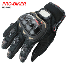 PRO MCS-01C Motorcycle Full Finger Glove Protective Motocross Racing Gloves Bike Bicycle cycling Luvas Da Motocicleta