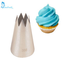 OnnPnnQ #356 Cake Decorating Tool Big Icing Piping Cream Nozzles Bakeware Pastry Tips