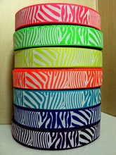 5Y2438 7/8'' passion fruit. acid green. pineapple.neon orange.misty turquoise.electric blue.ultra violet  pick Grosgrain ribbon