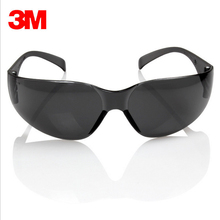 3M 11330 Safety Potective Black Goggles Glasses For Anti-UV Sunglasses Anti-Fog Shock proof working Eyes Protection Glasses(China)