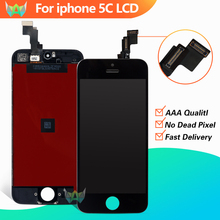 10 PCS/LOT Excellent Quality LCD For iPhone 5C Display Screen 100% Excellent Service Free Shipping DHL(China)