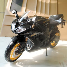 Brand New Motorbike Model Toys Kawasaki Ninja ZX-10R Black 1/12 Scale Diecast Metal Motorcycle Model Toy For Gift/Collection