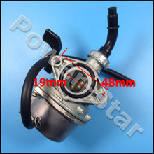 PZ19 carb 19mm carburetor for 50cc 70cc 90cc 110cc Chinese atv quad hand choke