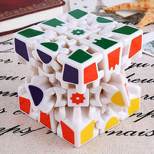 2017 New Fashion DIY Gearwheel 6 sides Rubik's Cube Magic Combination 3D Gear Cube