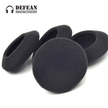 10pcs  foam cushion ear cover pads for Logitech h555 h 555 Headphone HeadsetFree shipping alistore