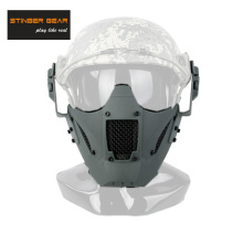 Stinger Gear Helmet Rail Jay Fast Mask Airsoft Mask Paintball Face Mask FG+Free shipping(SKU12050876)