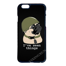 Pug Dog Star Wars Cover Case for LG G3 G4 iPhone 4S 5S 5C 6 6S 7 Plus iPod 5 Samsung Note 2 3 4 5 S3 S4 S5 Mini S6 S7 Edge Plus