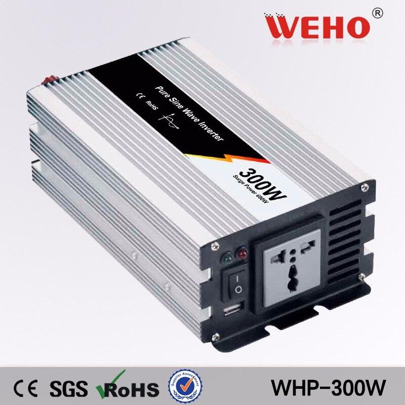 (WHP300-122)300w Pure Sine Wave 12VDC 220VAC 50Hz Solar dc to ac Power Inverter<br>