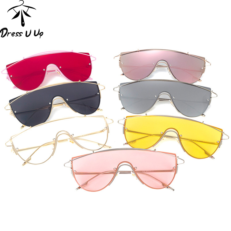 DRESSUUP 2017 Newest Trend Sunglasses Women Brand Designer Shades Personalized UV400 Sun Glasses Men Good Quality Oculos De Sol(China (Mainland))