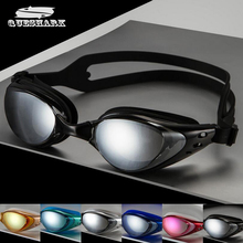 Queshark Quality Men's Women's Adult Swimming Frame Pool Sport Eyeglasses Waterproof Spectacles Male Female Swim Goggles Glasses(China)