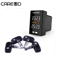 Careud tpms for nissan 4 internal sensors PSI BAR u912 tire pressure monitoring system  diagnostic-tool u912e tpms