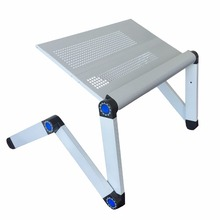 Adjustable Portable Laptop Table Stand Lap Sofa Bed Tray Computer Notebook Desk bed table with Mouse Table ZW-CD10