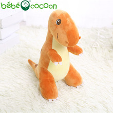 Bebecocoon 2017 Orange New Arrival Tyrannosaurus Rex Dolls Stuffed Toy Animals Plush Dinosaur Soft Toys Figure Gift Set For Boys