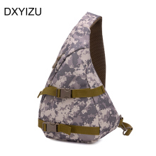 Newest fashion Chest Strap Backpack men Sling travel bags One Single Shoulder bag Man mochila feminina waterproof camouflage bag